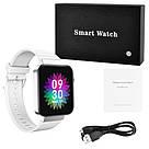 Смарт часы Smart Watch Mi5 pro, Sim card + камера, температура, умные часы цвет white, фото 5
