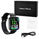 Смарт часы Smart Watch Mi5 pro, Sim card + камера, температура, умные часы цвет black, фото 6
