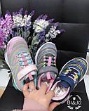 Кросівки дитячі на дівчинку Bi&Ki 0826A. 27-32 розміри. НОВИНКА 2021 року., фото 2