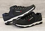 40 Розмір!  Туфли мужские спортивные черные демисезон (Кт-26чбк), фото 3