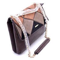 Женская сумка коричневая 689, фото 1