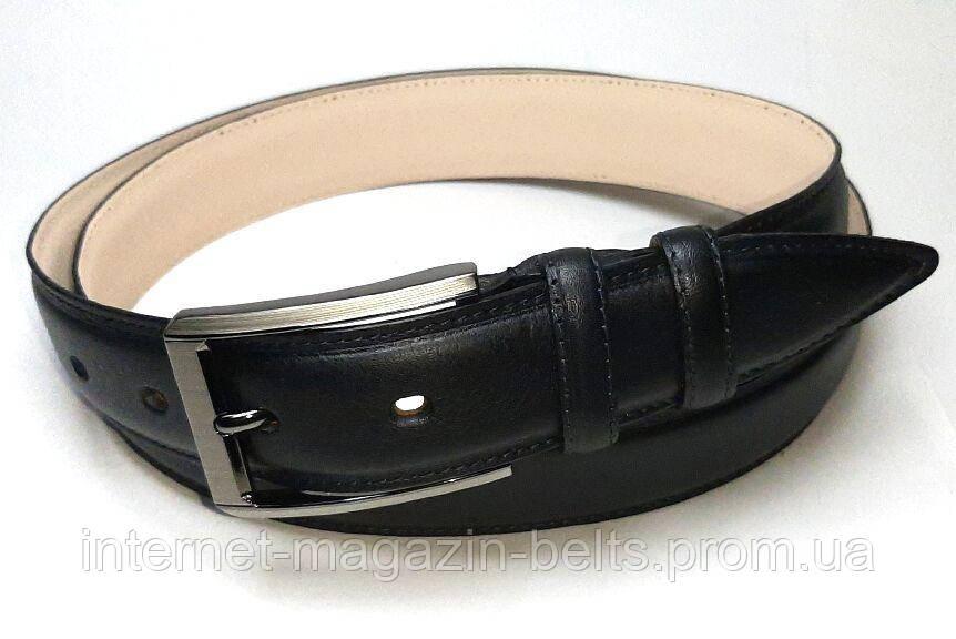 Чоловічий ремінь шкіряний Fs.Style 3535ml чорний