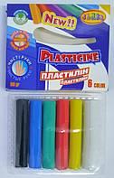 Пластилин Чистые руки Class 6 цветов