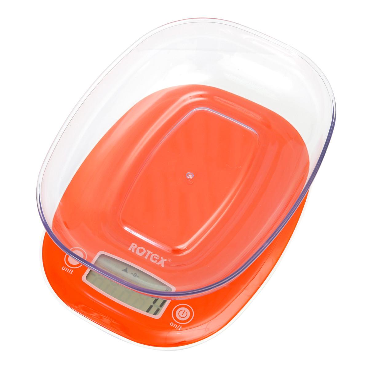 Ваги кухонні з чашею електронні ROTEX RSK19-P