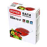 Ваги кухонні з чашею електронні ROTEX RSK19-P, фото 4
