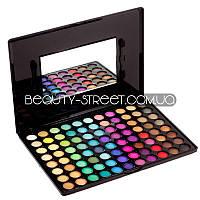 Палитра теней Beauties Factory 88 Полноцветные / Мерцающие