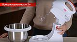 Міксер з чашею що обертається ROTEX RHM300-K, фото 2