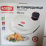 Бутербродница сендвичница ROTEX RSM124-W, фото 3