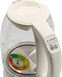 Электрочайник с терморегулятором стеклянный Smart ROTEX RKT85-G, фото 4