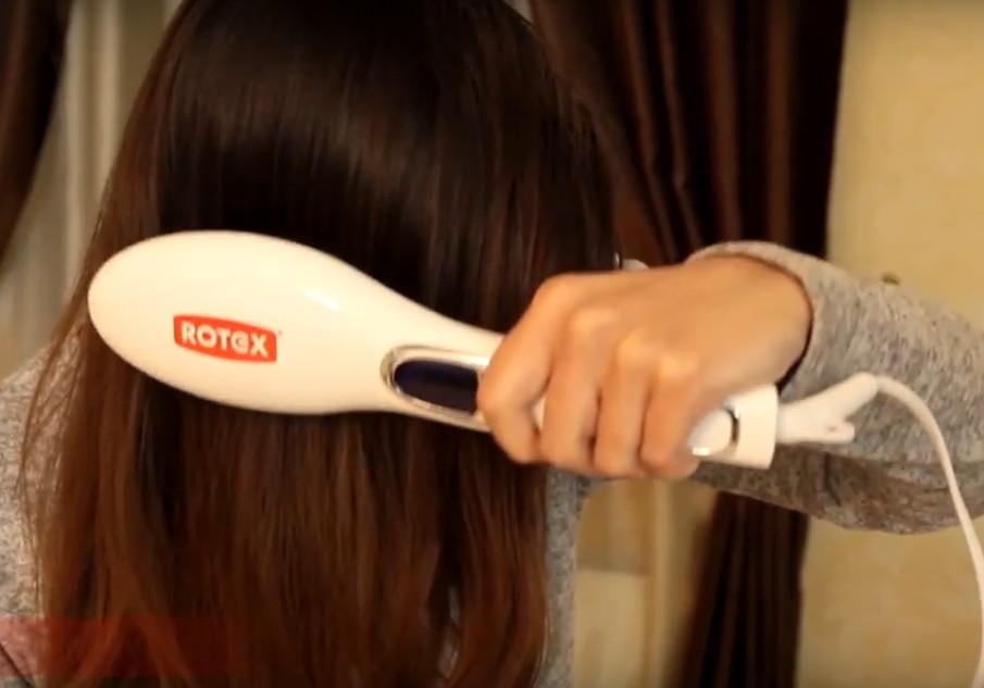 Щітка для випрямлення волосся Magic Brash ROTEX RHC360-C