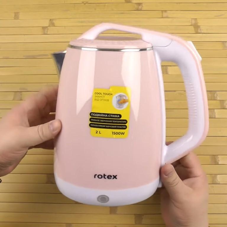 Електрочайник 2 літри ROTEX RKT25-P