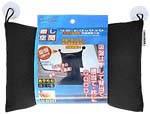Подушка под голову 20х30 см, черная 320-03 BK