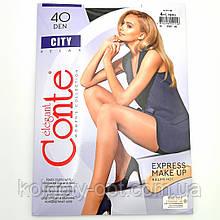 Женские капроновые колготки Conte City 40 den