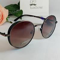 Стильные круглые солнцезащитные поляризованные очки Thom RICHARD