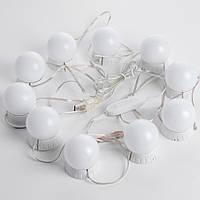 LED лампочки Mirror lights-meet different 10 шт для зеркала 3 режима питание USB