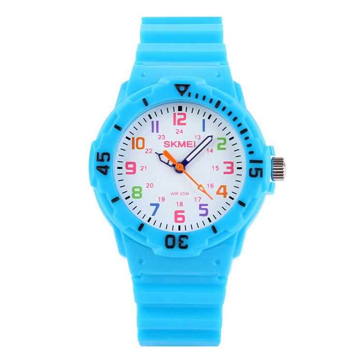 Skmei 1043 светло синие детские часы
