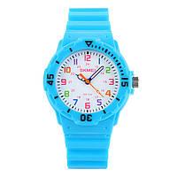 Skmei 1043 светло синие детские часы, фото 1