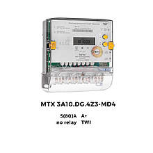 Счетчик трехфазный многотарифный MTX 3A10.DG.4Z3-MD4