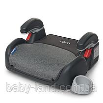 Детское автокресло бустер с подлокотниками EL CAMINO RORO ME 1044 Gray серый