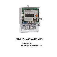 Счетчик однофазный многотарифный MTX 1A10.DF.2Z0-CD4