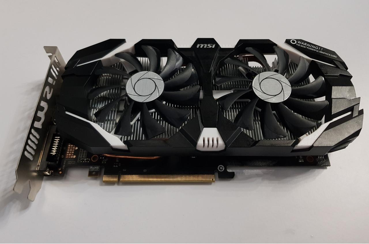 Видеокарта NVidia GeForce GTX 1060 3Gb, 192 bit, GDDR5, MSI