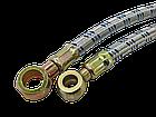 Шланг з металевою опліткою D=10 mm 800 mm (універсальна позиція), фото 2