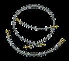 Шланг з металевою опліткою D=10 mm 800 mm (універсальна позиція), фото 4