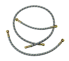 Шланг з металевої опліткою D = 10 mm 1500 mm (універсальна позиція), фото 4