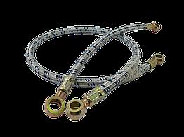 Шланг с металлической оплеткой D=10 mm 500 mm (универсальная позиция)