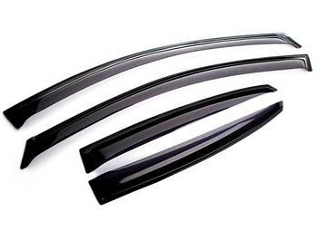 Дефлектори вікон вітровики Chevrolet Aveo Т 250 седан 2006 - 2011 Anv Air шевроле авео