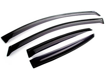 Дефлекторы окон ветровики Chevrolet Aveo хечбэк 06-11 Anv Air шевроле авео