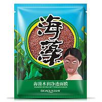 Натуральна маска з насіння морських водоростей Bioaqua Seaweed Hydra Net Through Mask, 15г