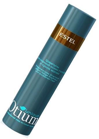 Шампунь otium unique для жирной кожи головы и сухих волос