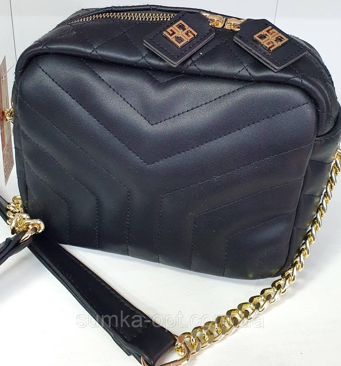 Брендова жіночий сумка Zara 28*30 см, чорна з червоним
