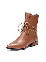 Женские осенние ботинки Martin , кожаные ботинки на толстом каблуке
