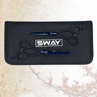 Комплект перукарських ножиць Sway Art Crow Wing розмір 5,5
