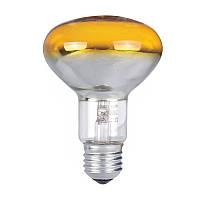 Лампа рефлекторная PHILIPS 60W R80 E27 жёлтая