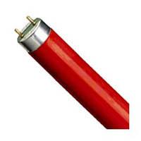 Лампа люминесцентная PHILIPS TLD 36W/15 G13 Red 1200 мм красная (Голландия), фото 1