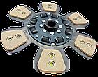 Диск сцепления МТЗ-80-1523  80-1601130 - 6 лепестков, керамика. Диск зчеплення МТЗ 80 керамічний, фото 2