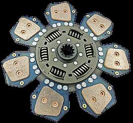 Диск сцепления МТЗ-80-2022  85-1601130 - 7 лепестков, металлокерамика. Диск зчеплення МТЗ 80 металокерамічний