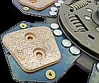Диск сцепления МТЗ-80-2022  85-1601130 - 7 лепестков, металлокерамика. Диск зчеплення МТЗ 80 металокерамічний, фото 5
