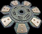 Диск сцепления МТЗ-80-2022  7 лепестков, металлокерамика. Диск зчеплення МТЗ 80 металокерамічний, фото 3