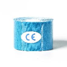 Кинезиологический тейп, кинезио тейп 5cм*5м 🍓 Голубой