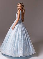 Светлое вечернее платье La Novale 100