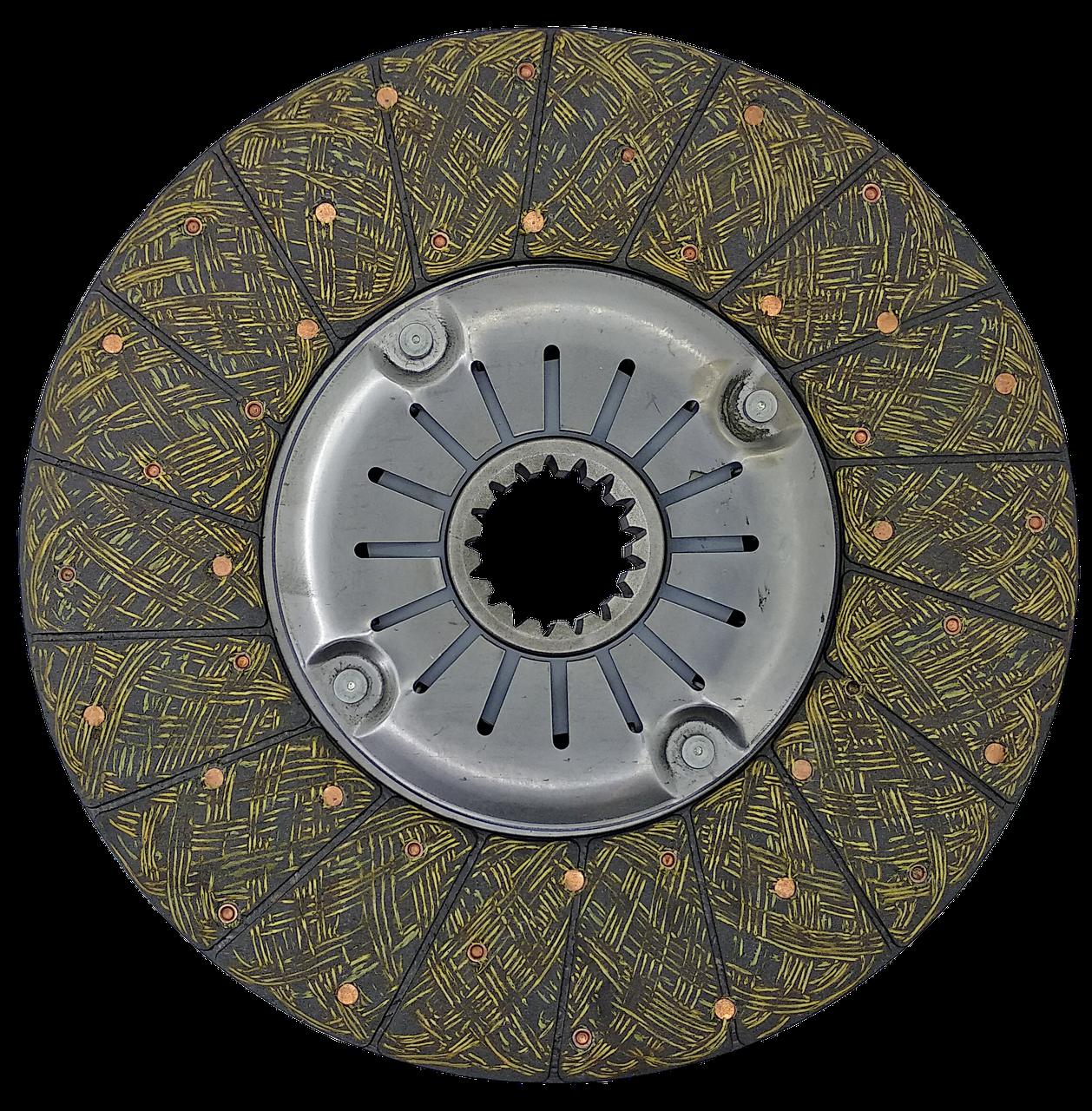 Ведомый диск сцепления Т-150 (СМД-60) (тканая Люкс накладка) Качество ! ! !