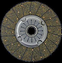 Ведомый диск сцепления Т-150 (СМД-60)(тканая Люкс накладка) Качество ! ! !