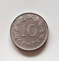 10 центов Мальта 1972 г., фото 1