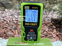 Лазерный дальномер (рулетка) Procraft PLDM60, фото 1