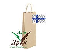 Бурый крафт-пакет с ручками (150х80х400)
