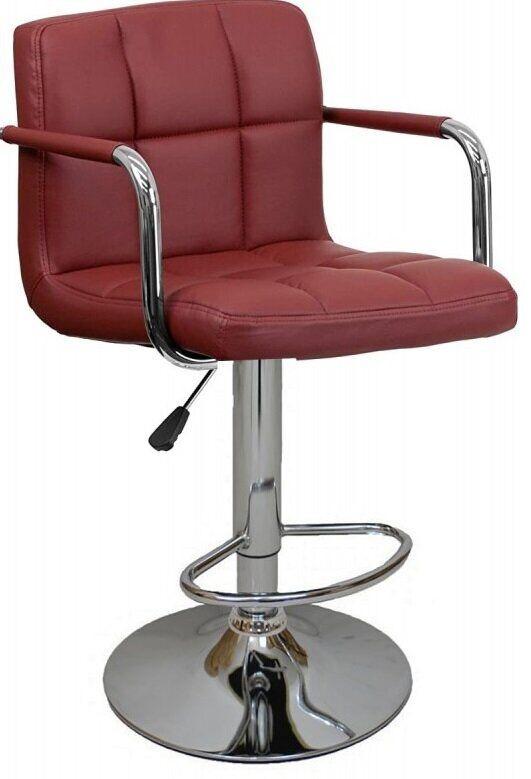 Барный стул Hoker Bonro 628-1. Цвет бордовый